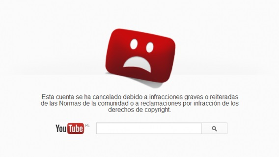 youtube borra videos corridas de toros