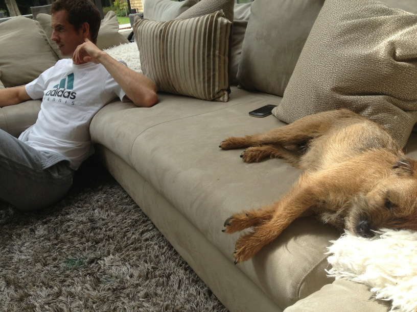 andy murray y maggie