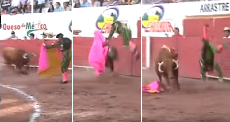 video cogida torero el lana