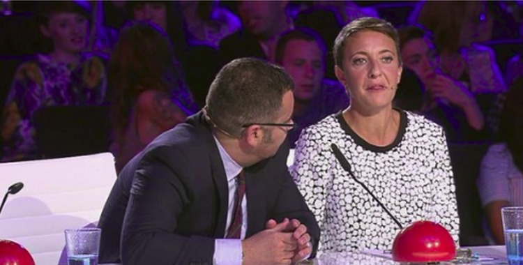 eva hache comentario caca perros got talent