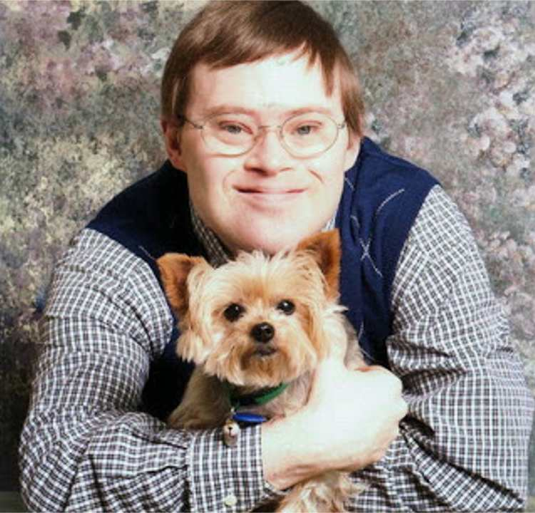 dog with down syndrome